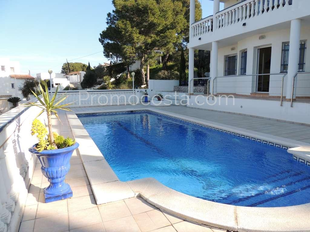 Pool L Escala Nice House With Sea Views And Private