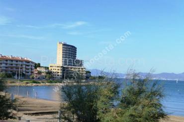 L'Escala - Playa Riells- Apt 1ª linea,  vista al mar