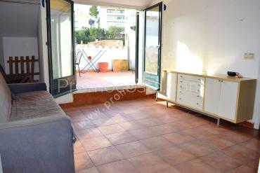 L'Escala - Studio with terrace located 100m from the beach