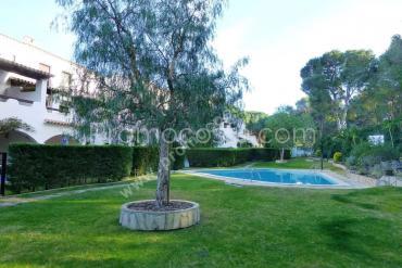 L'Escala - Casa con piscina comunitaria y 3 habitaciones