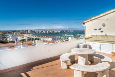 L'Escala - Apartamento con vista mar y piscina comunitaria