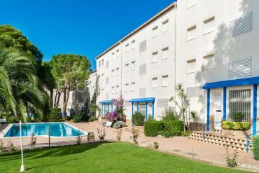 L'Escala - Apartamento con vista al mar y piscina