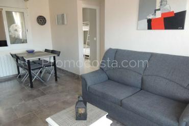 L'Escala - Agradable piso con 2 habitaciones a 800m de la playa