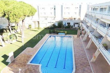 L'Escala - Apartamento con piscina comunitaria