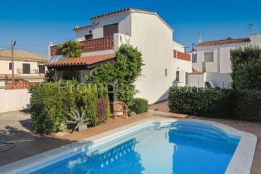 L'Escala - Casa con jardín y piscina privada