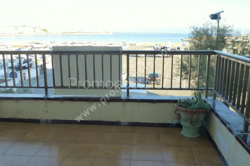 L'Escala, LA CLOTA-Apartament amb vistes al mar