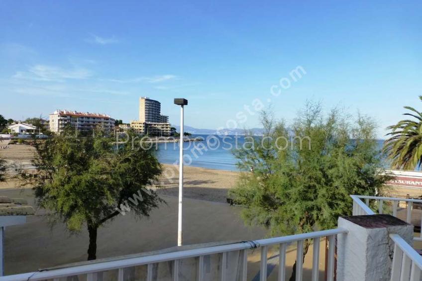 L'Escala, Playa Riells- Apt 1ª linea,  vista al mar
