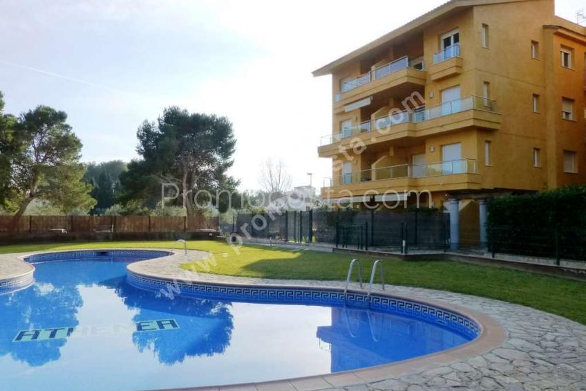 L'Escala, Ground floor apartment with pool