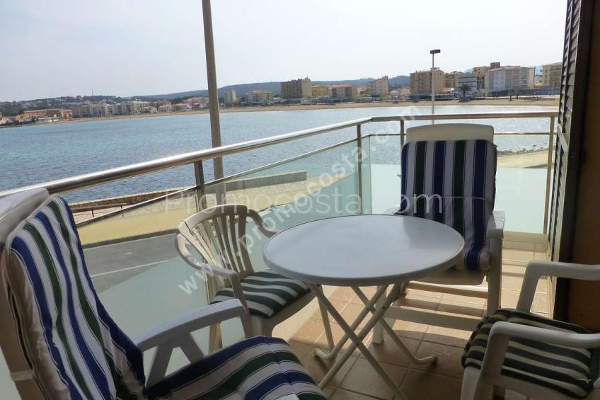 L'Escala, Apartamento con vistas al mar