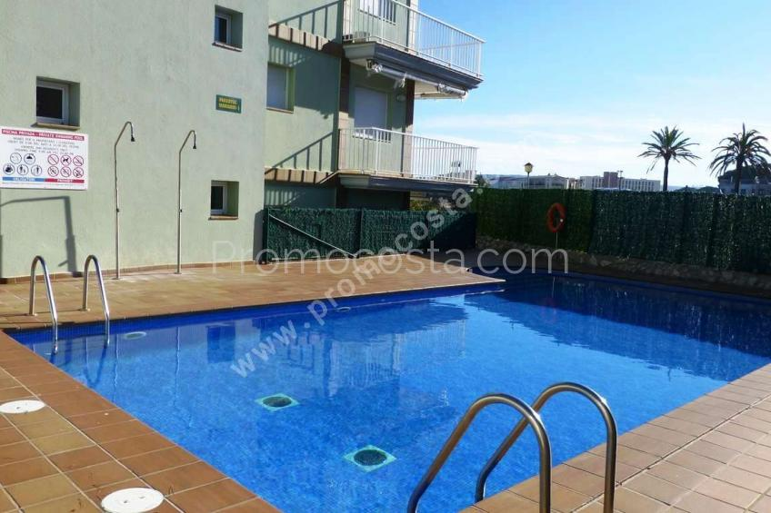 L'Escala, Apartamento con bonitas vistas al mar
