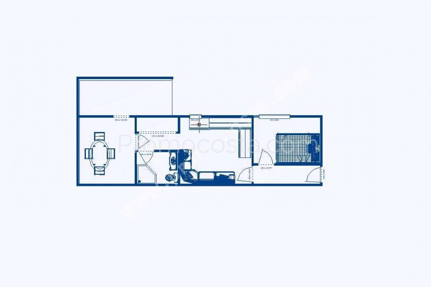 L'Escala, Appartement de rez de chaussée avec terrasse