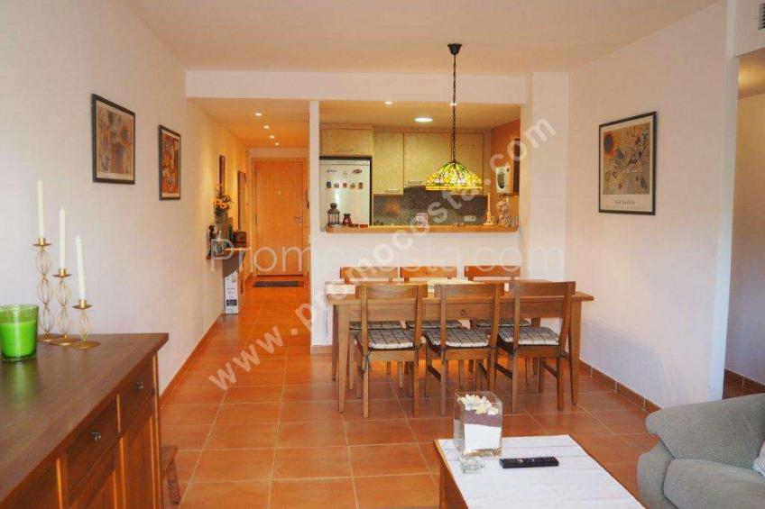 L'Escala, Ground floor apartment with pool