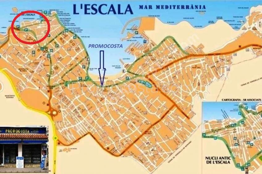 L'Escala, Vielle Ville - 50m de la plage