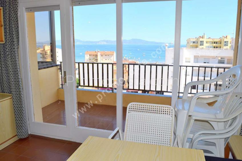 L'Escala, Apartament amb vista al mar i 3 dormitoris