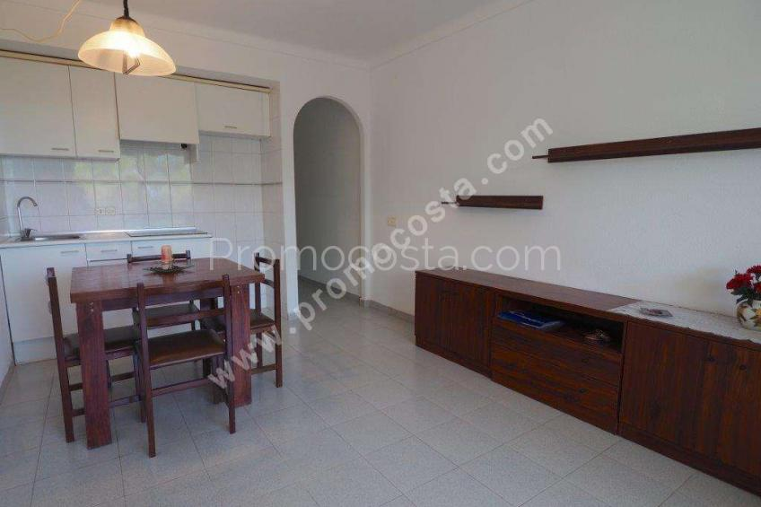 L'Escala, Apartment with community garden and pool