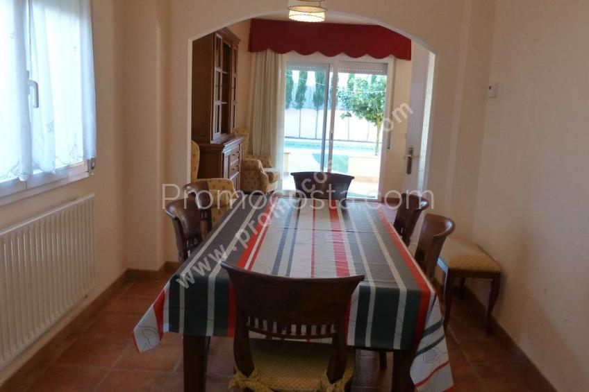 L'Escala, Detached house with garden and private pool