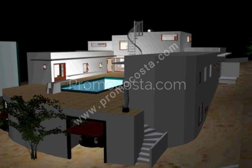 L'Escala, Fantástica  casa en Punta Montgó