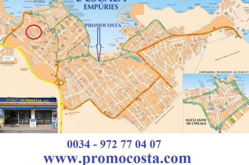 L'Escala, Maison à  400m de plage Ampurias
