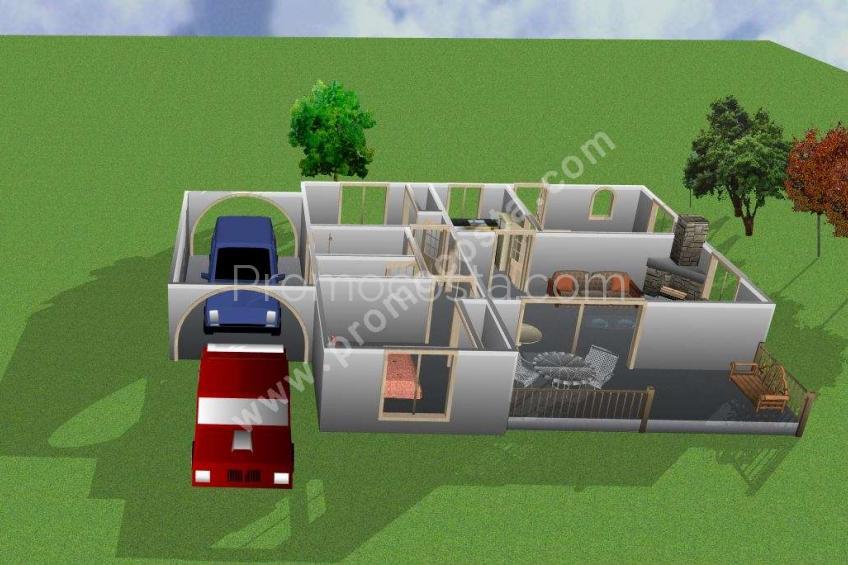L'Escala, Casa de planta baja con 3 dormitorios dobles
