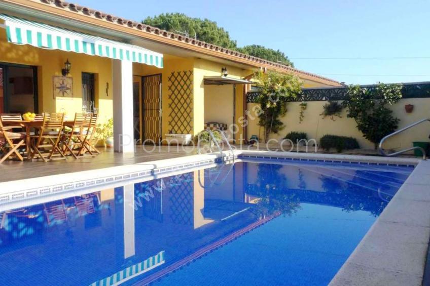 L'Escala, Casa con piscina privada y 3 habitaciones