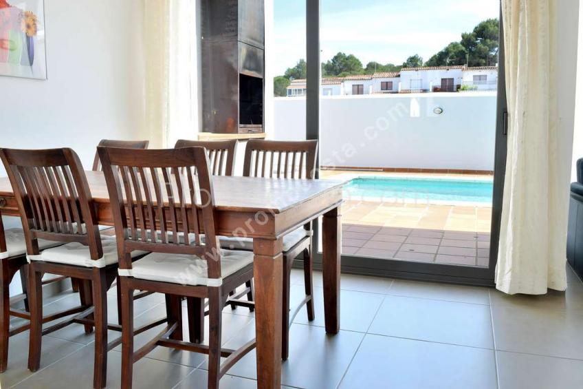 L'Escala, Casa con piscina privada y 4 habitaciones
