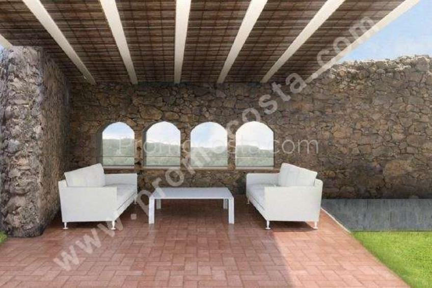 Bellcaire, Casa rustica totalmente modernizada con piscina