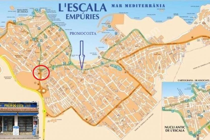 L'Escala, Restaurante en venta