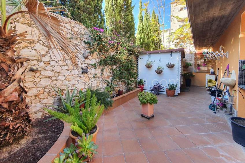 L'Escala, Apartamento de planta baja con patio  en el Casco Antiguo