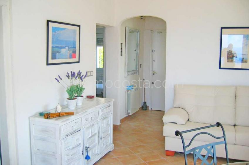 L'Escala, Apartment with sea view and a large terrace