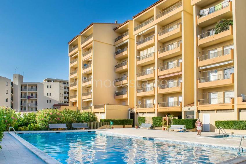 L'Escala, RIELLS- Acogedor apartamento a 100m de la playa