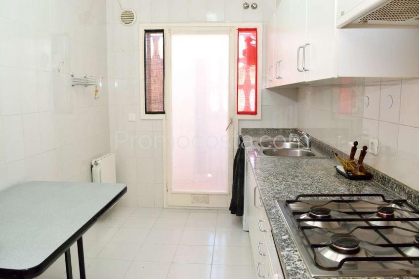 L'Escala, Apartamento con calefacción central