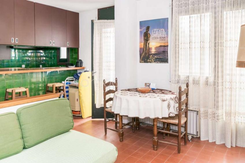 L'Escala, Apartment near the beach in the Old Town