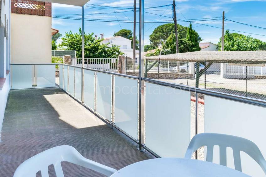 L'Escala, Apartamento con piscina comunitaria