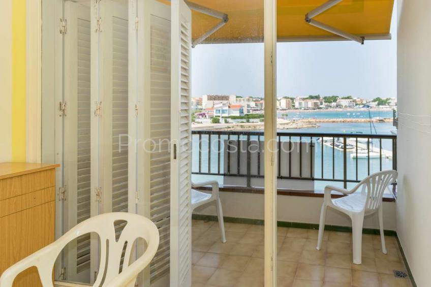 L'Escala, Apartamento en primera línea de mar