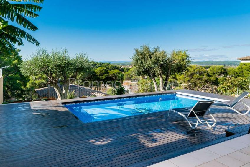 L'Escala, Casa de diseño con vistas y piscina privada