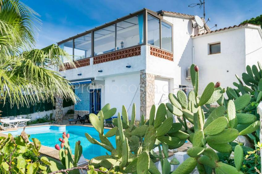 L'Escala, Casa con vista mar y piscina privada