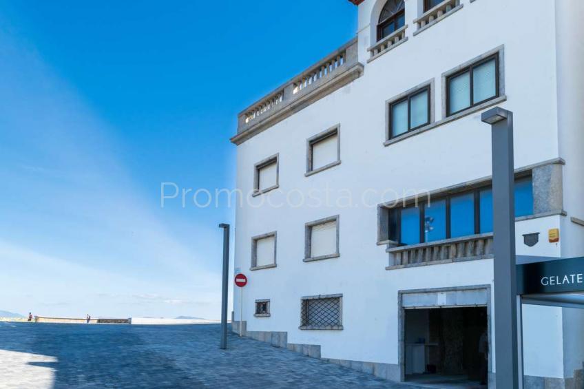 L'Escala, Casa playa Casco Antiguo con vistas al mar