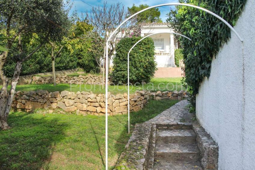 L'Escala, Casa con vistas bonitas y amplio jardín privado