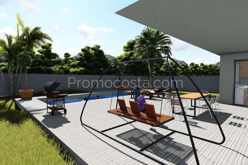 L'Escala, Casa sobre plano con piscina y vistas al bosque